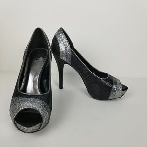 Worthington Shoes - Worthington peep toe sequin pump